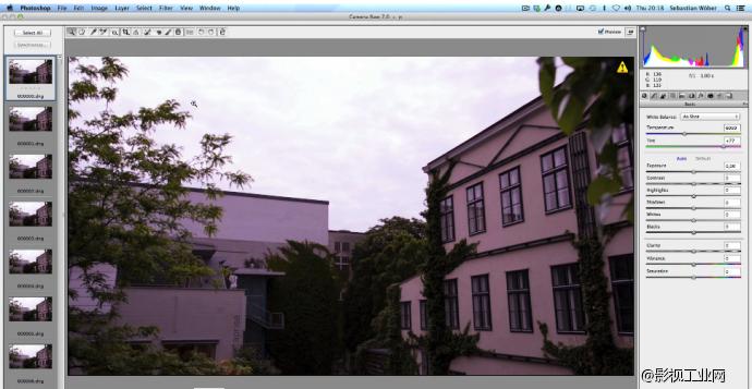 5D MARK III 14bit RAW 工作流程视频教程:使用 Photoshop进行格式转换