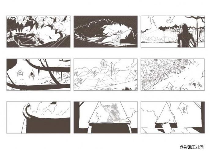 图腾之旗分镜头设计思路与创作感想