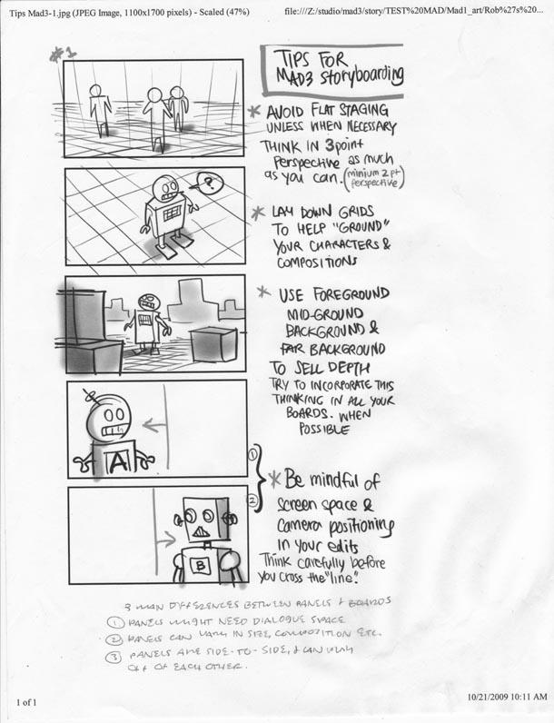 梦工厂动画家Ben Caldwell分享梦工厂的故事板技巧,对故事板、漫画动画、电影感兴趣都可以一看!