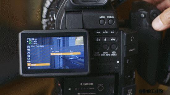 手把手教你C100连接Atomos Ninja 2,以及记录仪参数设置后达到成像的效果