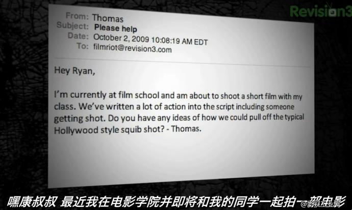 FilmRiot视频第20集,(好莱坞子弹溅血特效)-中文字幕