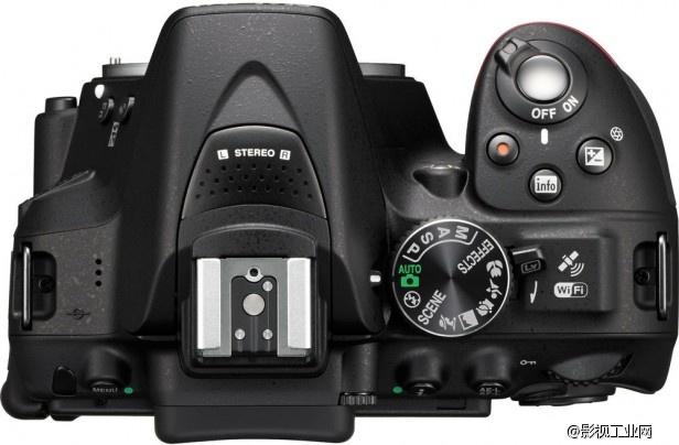新的尼康D5300单反,拍摄1080P 60FPS视频图片