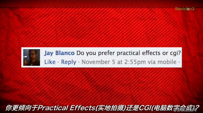 FilmRiot视频第352集,(你更倾向于Practical Effects(实地拍摄)还是CGI(电脑数字合成)?)与康叔叔互动-中文字幕