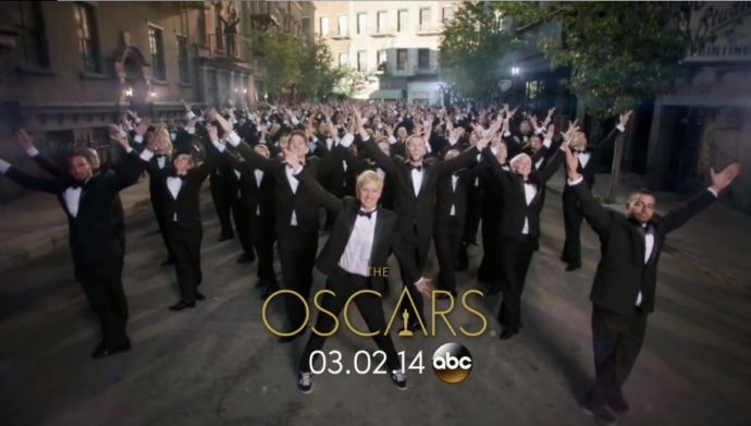 第86界奥斯卡颁奖典礼预告片制作解析----大场景光影控制
