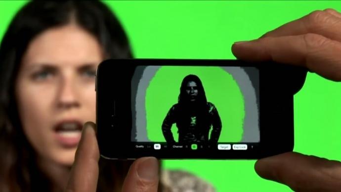 巧用APP在影视拍摄中获得一键抠像的干净绿背【原创】