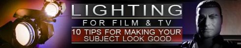 影视照明:让主体好看的10个技巧