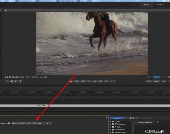 关于Speedgrade支持Sony F系列 Raw,以及其他视频格式,互导的统一回答