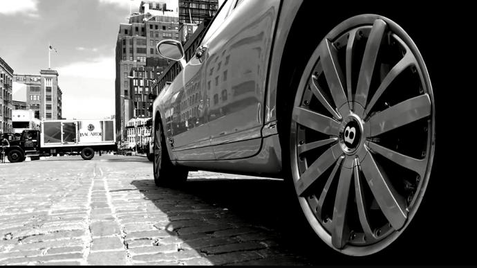 """""""心中无剑"""":看宾利汽车广告如何拍摄和剪辑"""