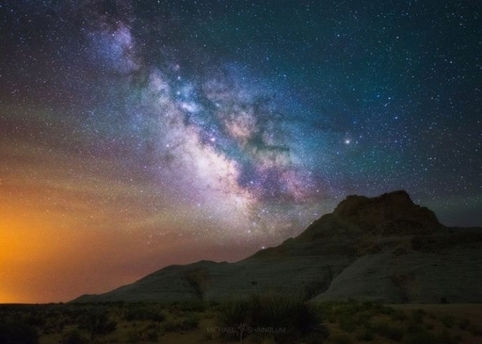 如何拍好银河系?专业人士Michael Shainblum告诉你关于天文摄影的三个技巧