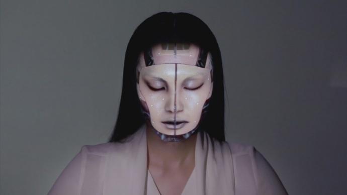 OMOTE-实时人脸跟踪和投影技术