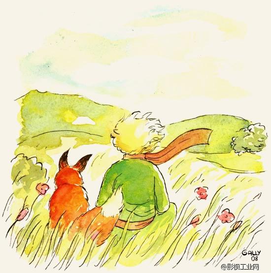 《小王子》:请问,你能给我画一只绵羊吗?