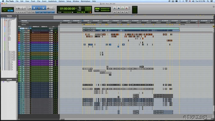 电影声音剪辑与混音:短片《英雄》声音后期制作手记
