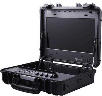 旗舰风范 瑞鸽 TL1730HDA-CO17.3寸全像超薄凯瑞昂箱载式电影级监视器