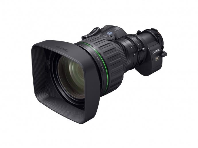 佳能正在为4K广播级摄像机开发便携式变焦镜头