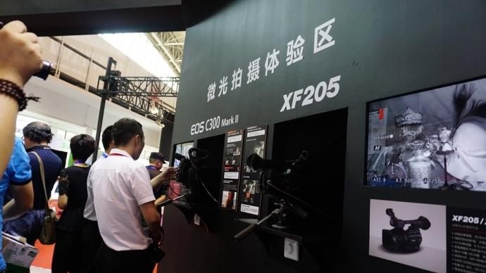 佳能EOS C300 Mark II亮相Birtv展会 价格依旧是迷