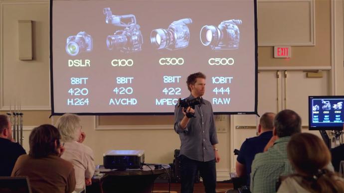 C500工作流程以及一些4K的基础知识