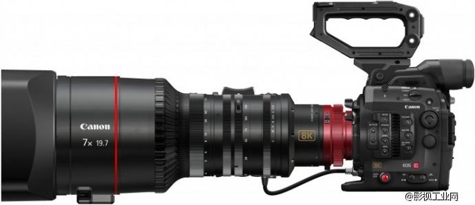 Convergent Design全力支持佳能原型8K Cinema EOS相机 