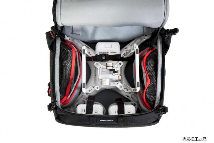 为phantom系列全线产品精心设计和定制的一款多功能影视航拍专用背包