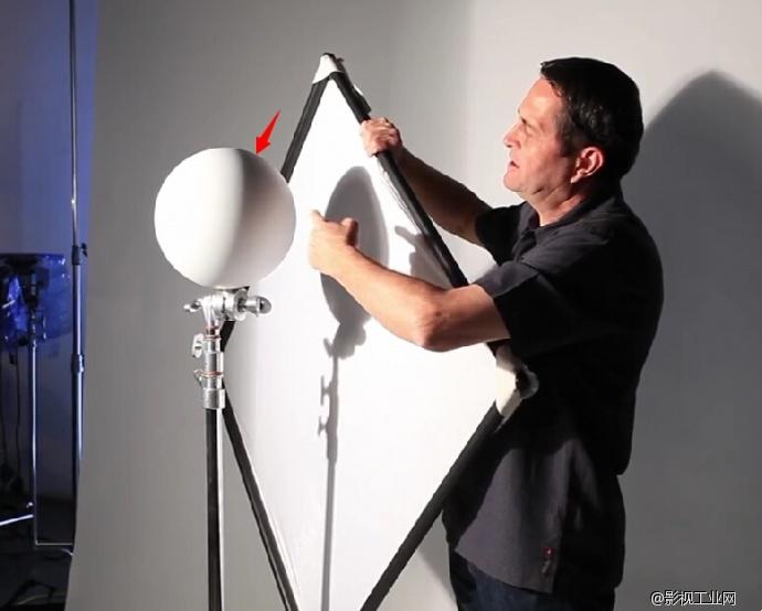 布光实例 ▎一盏灯教你打造完美人像布光