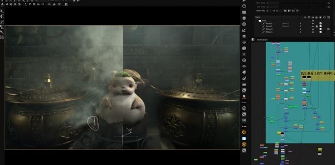 [影视工业网公开课]《捉妖记》特效制作分享会,与Base FX一同探秘