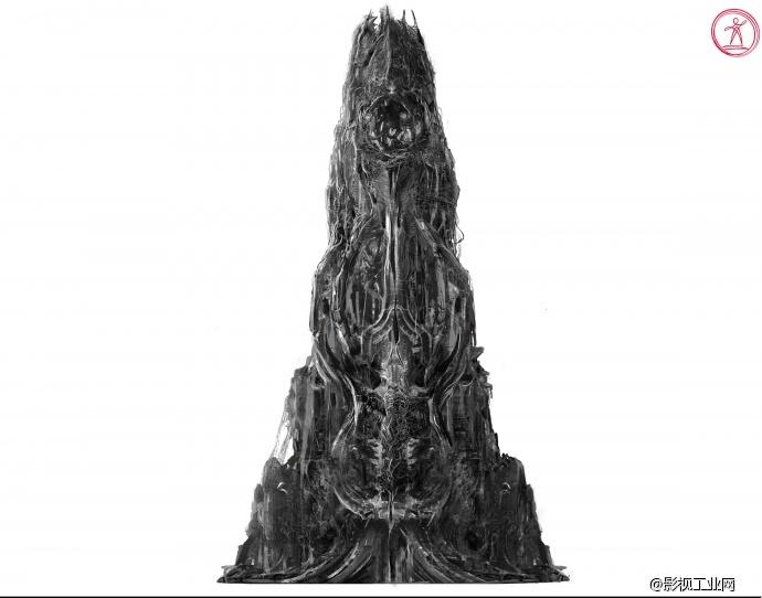 《鬼吹灯》的想象展现:《九层妖塔》设计概念图赏析