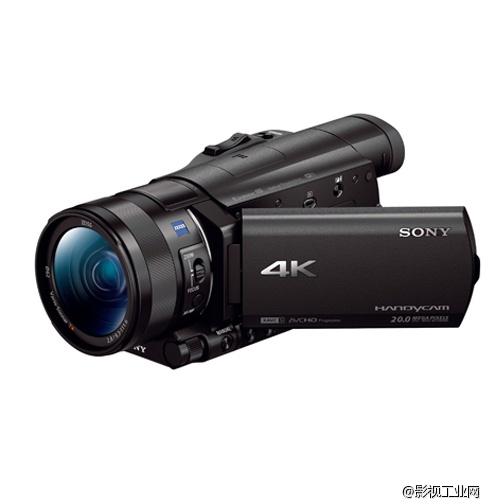 索尼(sony)fdr-ax100e 4k数码摄像机