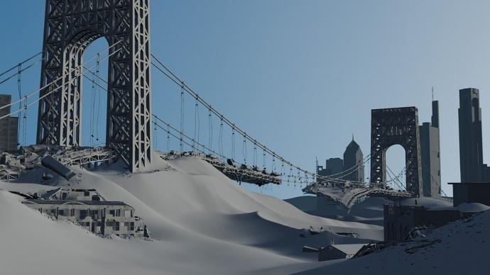 用想象构造一个世界,《移动迷宫2》视觉特效解密