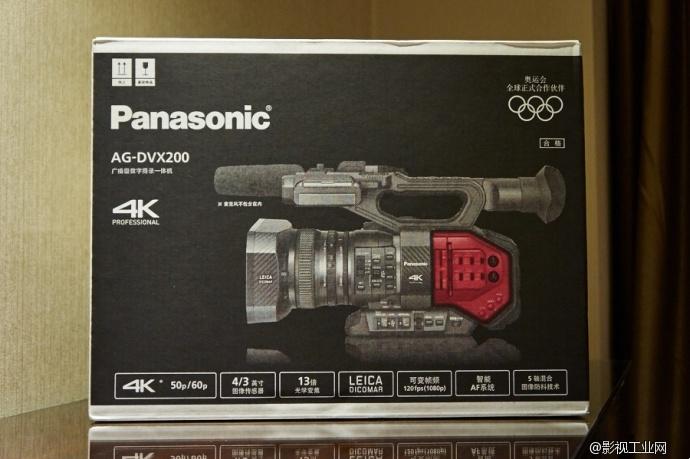 松下 AG-DVX200 摄录一体机