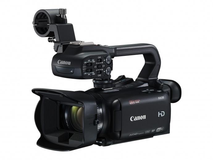 佳能发布搭载新开发CMOS影像感应器的专业全高清摄像机XA35/XA30 实现高画质、低噪点表现
