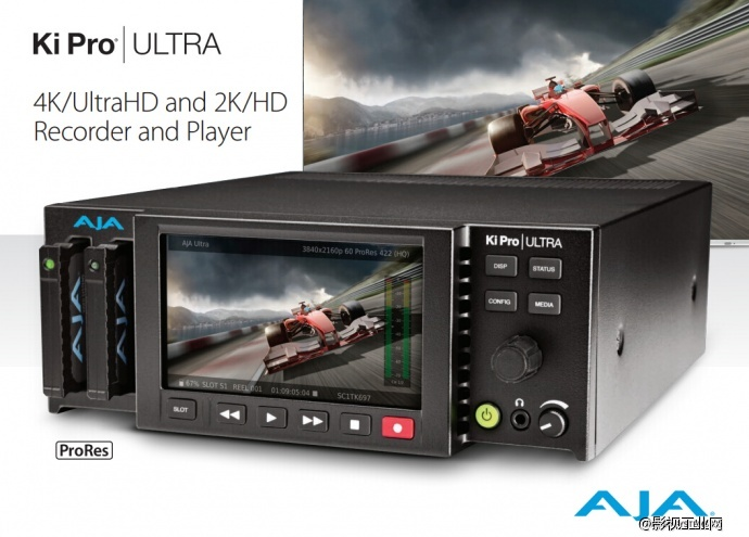 AJA 4K 60p录像机Ki Pro ULTRA初冬首发