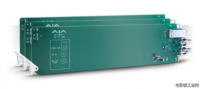 Inter BEE展会AJA新品密集发布———openGear系列板卡
