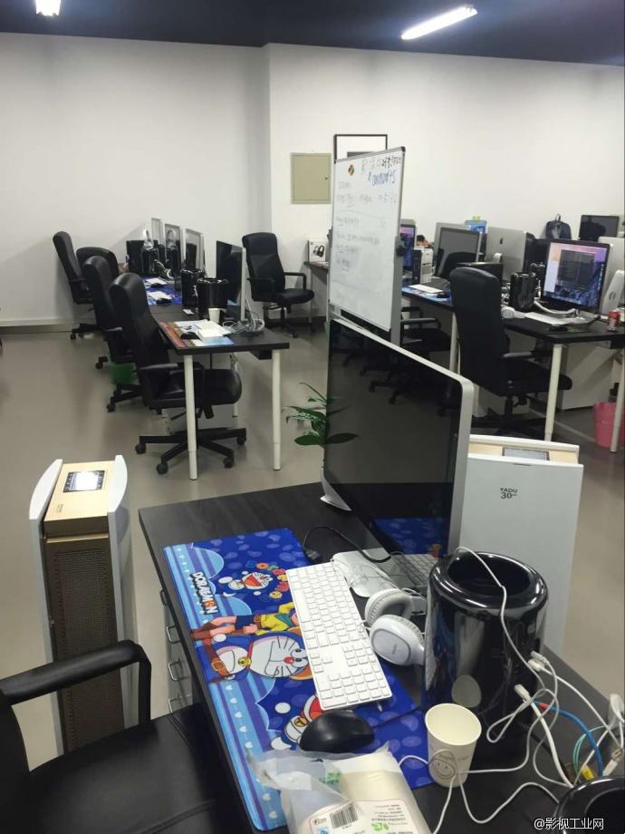 后期制作办公室_真人秀后期剪辑制作平台机房搭建.