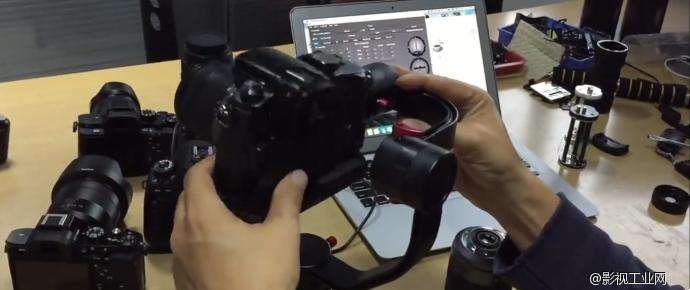 Beholder DS1陀螺稳定器在Canon 5D3,Sony A7SII及Panasonic GH3上的PID及摄影机设置