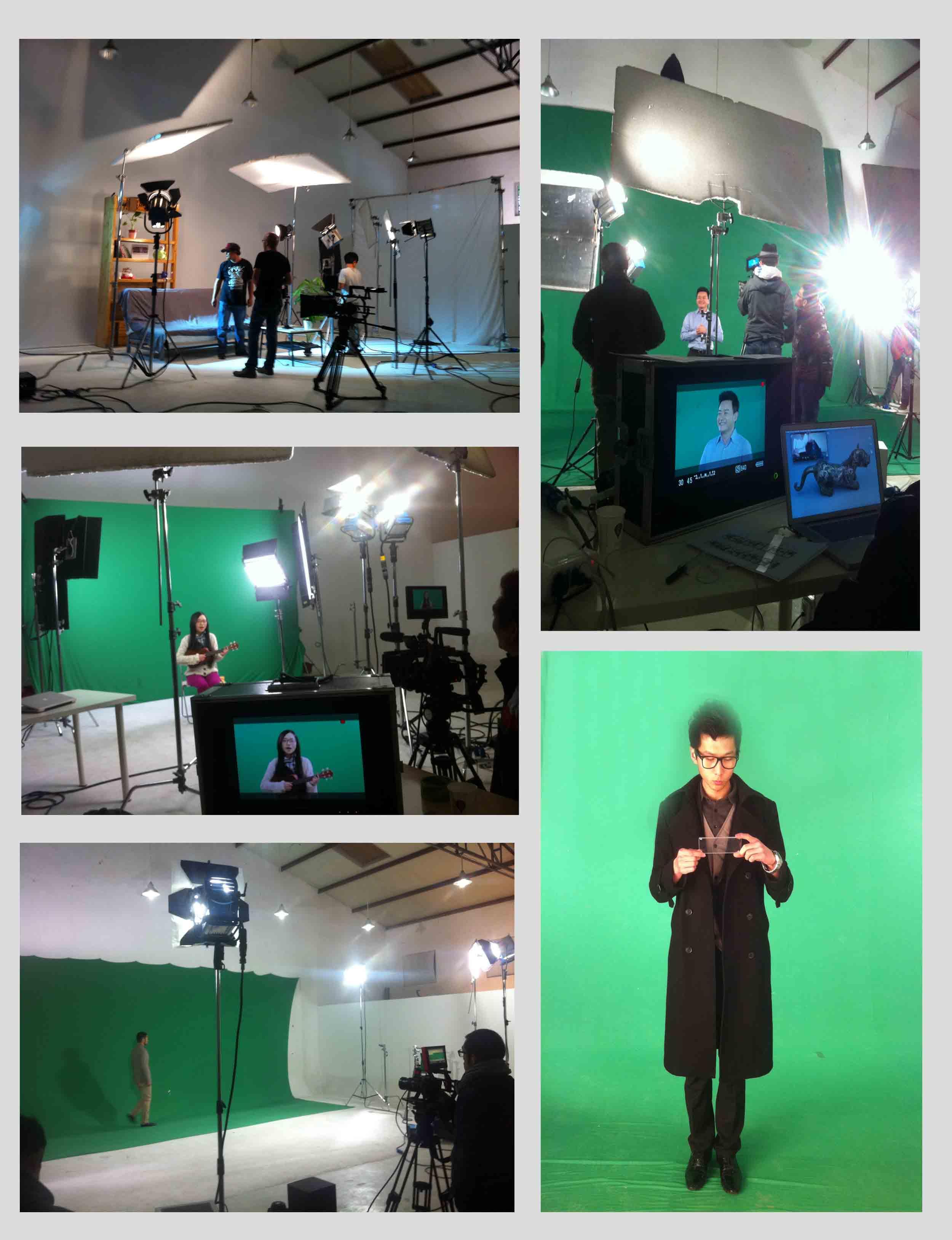 影棚适合各类影视广告抠像拍摄,微电影制作,时装,人像,产品广告
