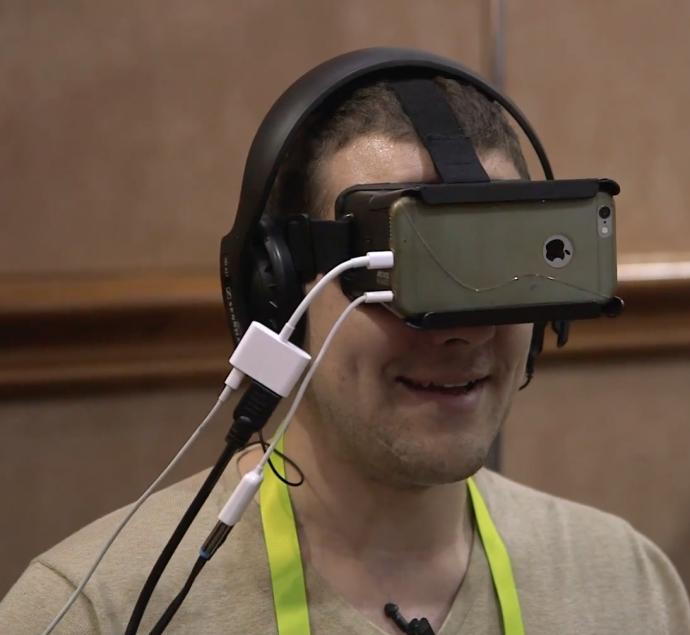 2016CES美国消费电子展(一)——4D模拟运动搭配VR眼镜