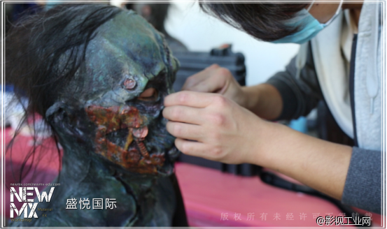 盛悦国际合作项目:寻龙诀-特效化妆