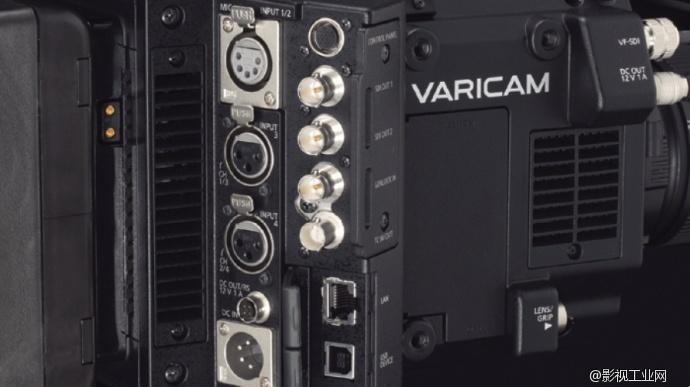 Panasonic VariCam LT输出端口