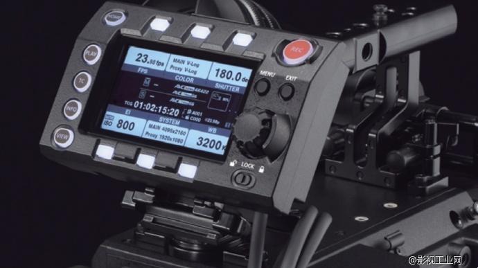Panasonic VariCam LT 控制面板
