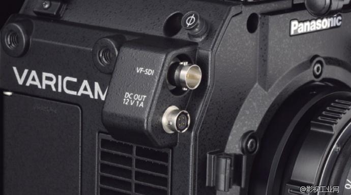 松下VariCam LT EVF取景器信号端口