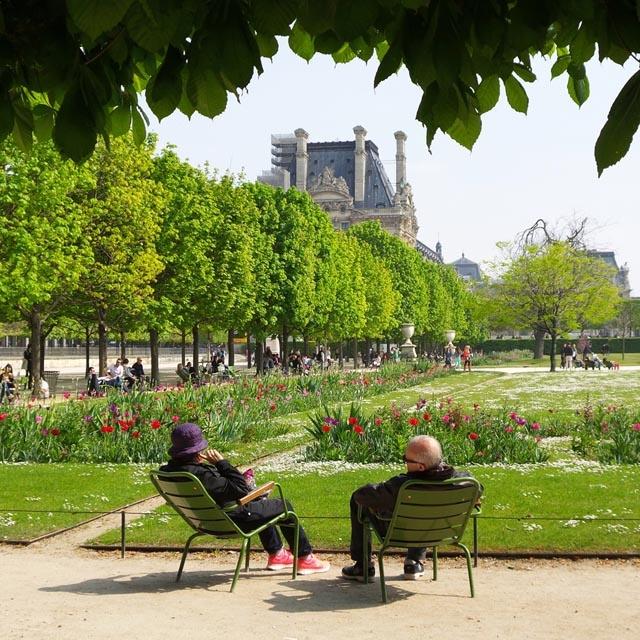 法国巴黎背景素材