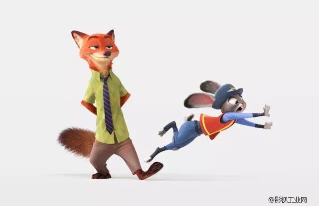 《疯狂动物城》:大家都爱聪明的动画