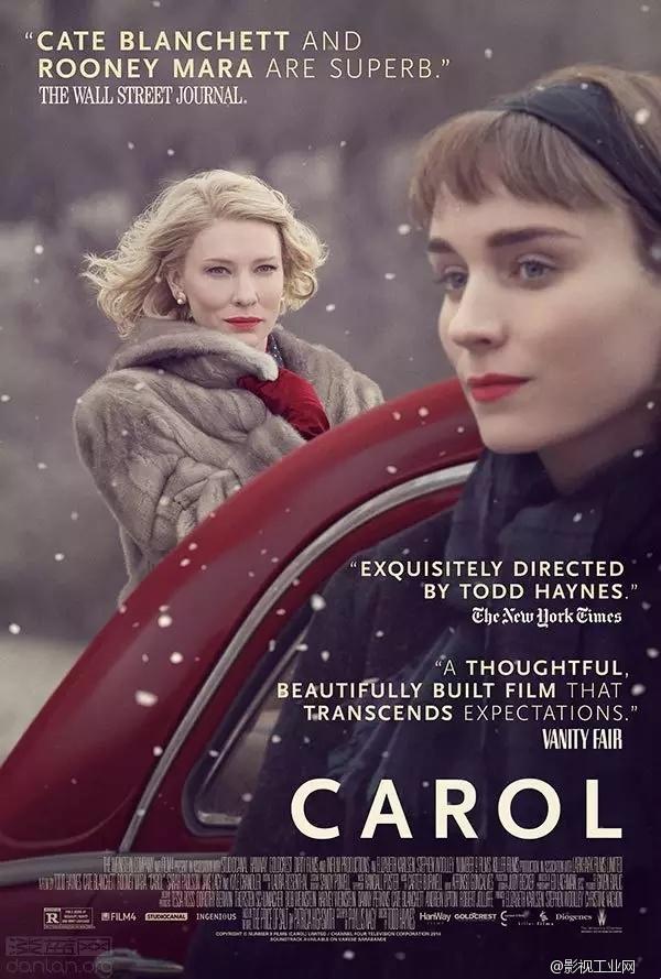 《卡罗尔》摄影指导爱德华·拉奇曼访谈:她们无法从取景框里逃出去