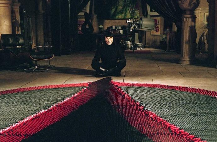 经典电影冷知识:10件关于《V字仇杀队》的秘密