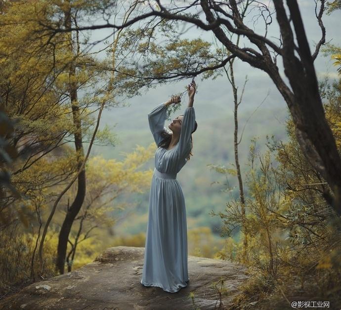创意人像摄影:用身体与自然一起来写诗