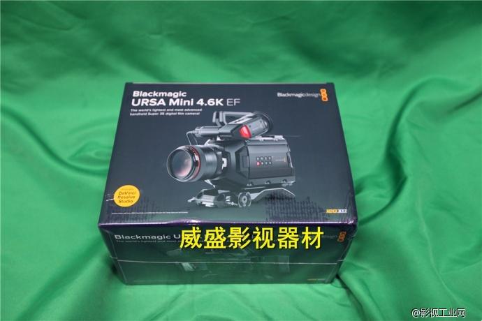 中国国内首拆URSA mini4.6K电影摄像机,值得拥有!