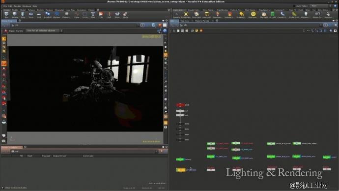 CG动画短片《Fix》欣赏&后期灯光渲染建模细节展示