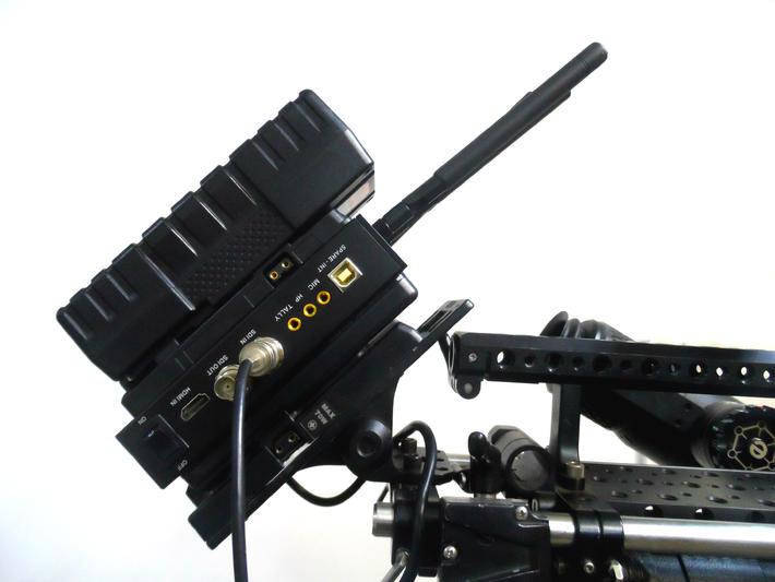 这个系统能无线传输未经压缩的hdmi, sd/hd-sdi或3g-sdi信号并在接收