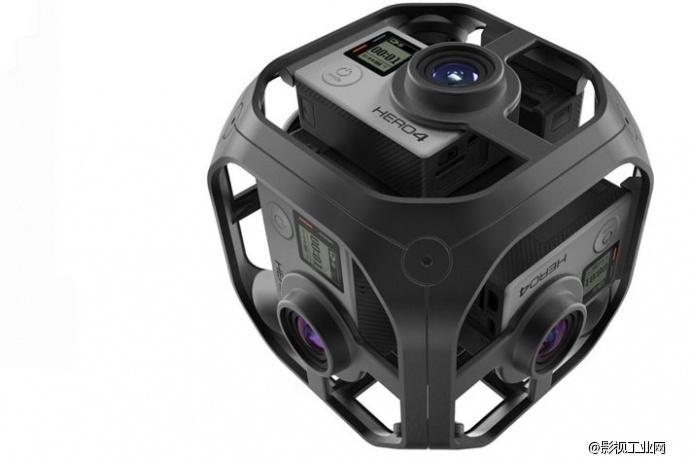 GoPro也推出虚拟现实相机