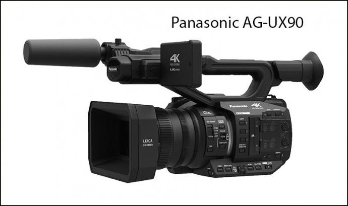 【NAB 2016】全线4K,松下发布两款4K手持摄录一体机 AG-UX180 and AG-UX90.