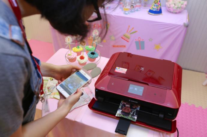 激发创意 分享快乐 腾彩PIXMA打印机创意乐园侧记